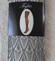 REZ//Sive mrežaste nogavice