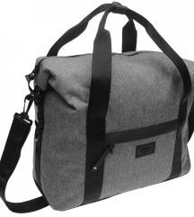 Večja siva torba Firetrap - trdo dno