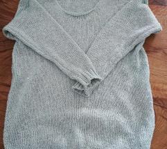 Zeleno-siv pulovercek