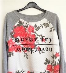 ZNIŽ.Nov floral sweatshirt