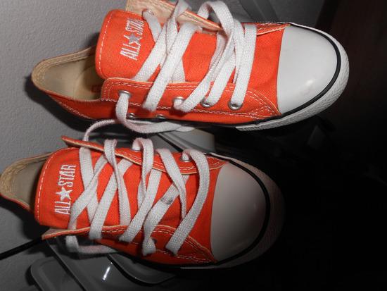 Original ALL STAR superge v oranžni barvi