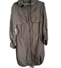 Denim & Co lahkotna olivna jakna