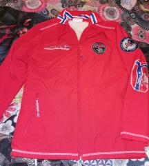 Nebulus jakna rdeča S