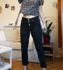 boyfriend črne kavbojke jeans 38