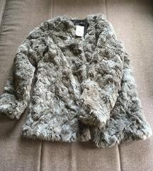 NOVA Siva modna jaknaz ETIKETO
