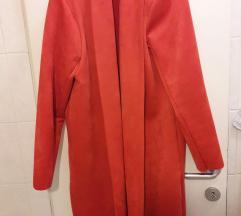 NOV Zara oranžen prehodni plašček