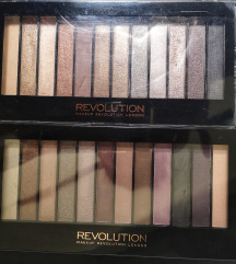 Makeup revolution paletki