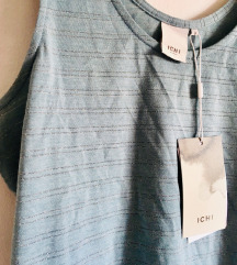 Modra črtasta poletna majica