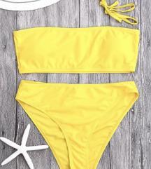Neon high Cut Bikini Set