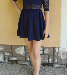Čipkasta poletna obleka H&M