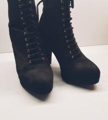 Škornji s peto 38 H&M
