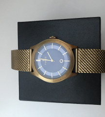 FJORD ura zlata z modro notranjostjo