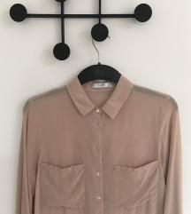 NOVA svilena Mango svetlo roza