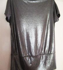 srebrna tunika, majica - NOVA