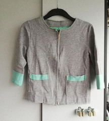 Prehodna sivo-mint jaknica, jopa