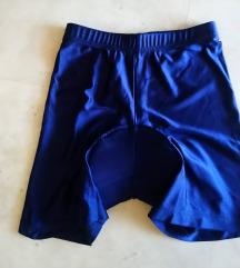 Temno modre otroške kolesarske hlače