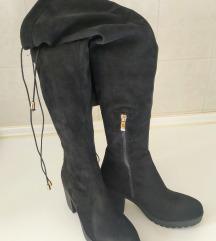Škornji čez kolena (poštnina vključena)