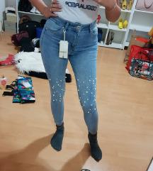 Jeans visok pas AKCIJA