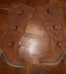 Semišni škornji