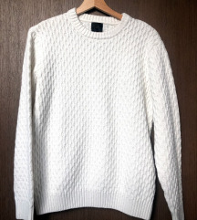 Bel H&M pulover
