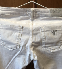 Guess jeans bele hlače NOVE nikoli nošene original