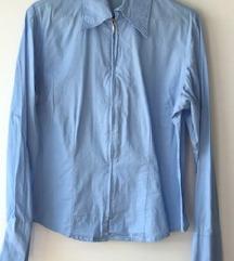 Modra elegantna srajca