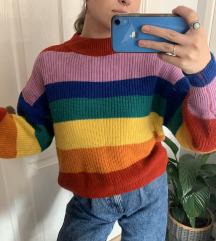 Monki mavrični pulover