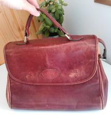 Vintage usnjena torbica