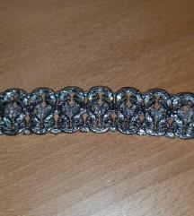 Srebrna masivna zapestnica(pravo srebro 925)