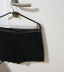 Zara črne kratke hlače