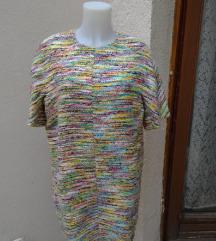 Cudovita vecbarvna obleka Chloé,original