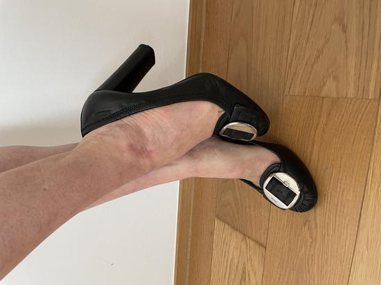 Čevlji s peto PRADA