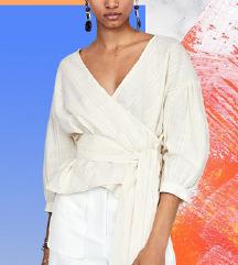 Zara NOVA crossover bluza