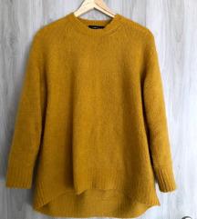 Zara oker pulover