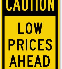 Znižanje cen za moj rojstni dan