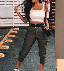 Jogger dolge hlače s pasom