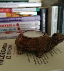 DOM - dekoracija ■svečnik za čajne svečke ■želvica