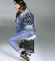 Jeans jaknica S/M