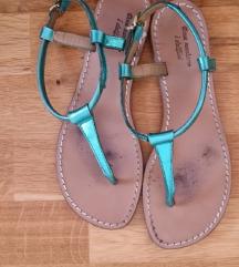 usnjeni sandali št.37