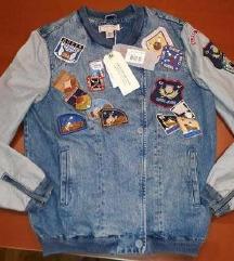 GUESS, retro jeans jakna z etiketo