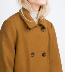 Zara NOV plašček pea coat