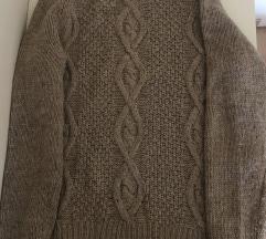 H&M pleten pulover