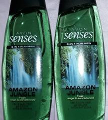 AVON Amazon Jungle set 2x 500 ml gel za tuširanje