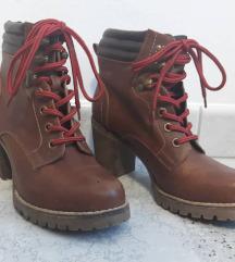 Rjavi škornji