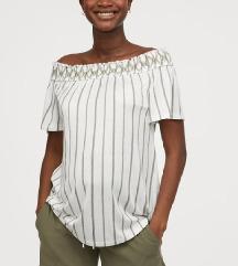 H&M kratke hlače, olivno zelene