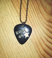 Rock On verižica v obliki trzalice