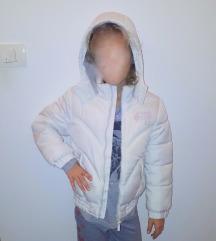 Bela c&a bunda dekliška št.128
