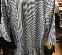 Zara črtasta obleka/tunika MPC 45 eur
