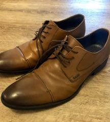 Rjavi moški usnjeni čevlji Lasocki