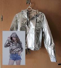 H&M 'srebrn' anorak